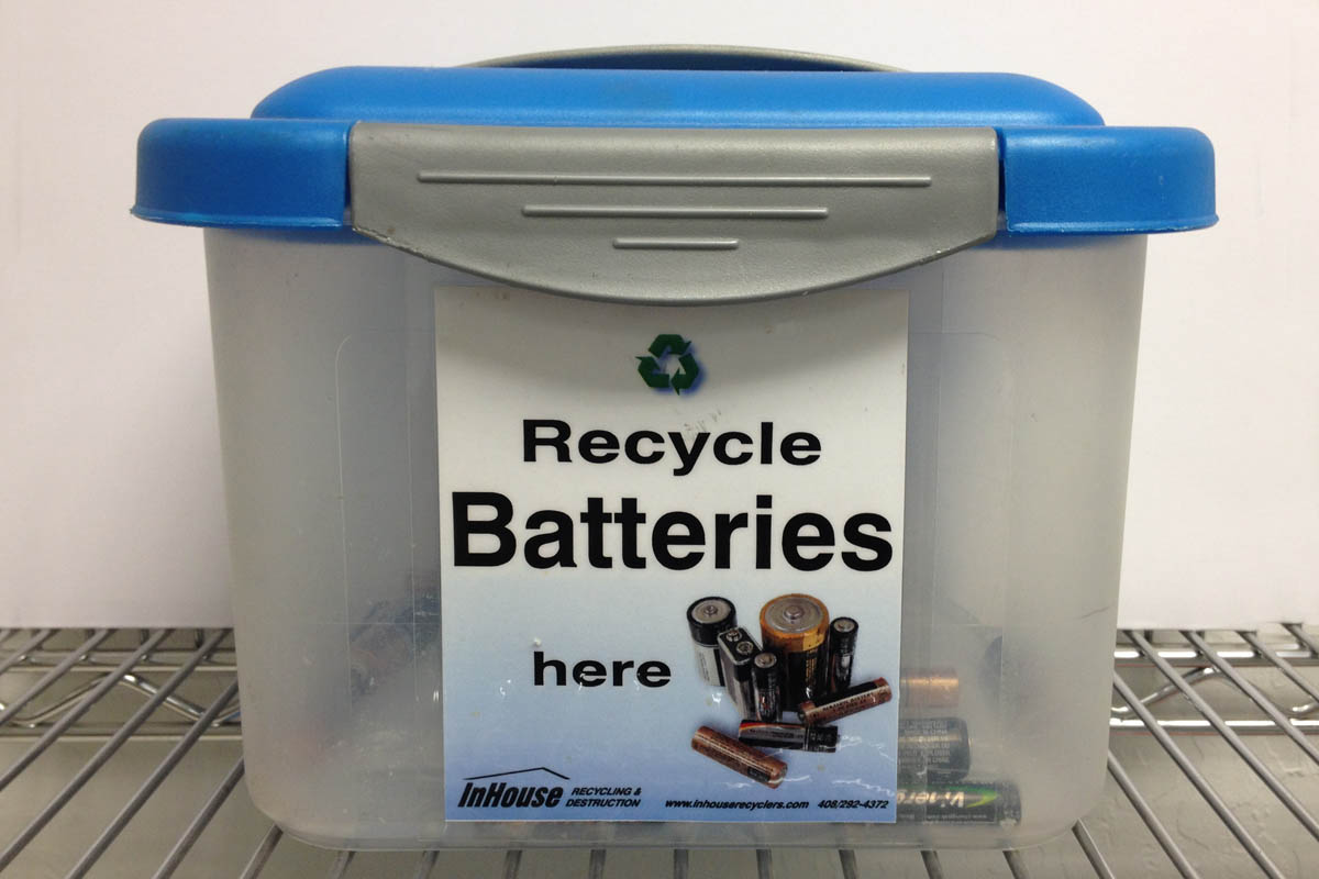 on site shredding service - battery recycling service