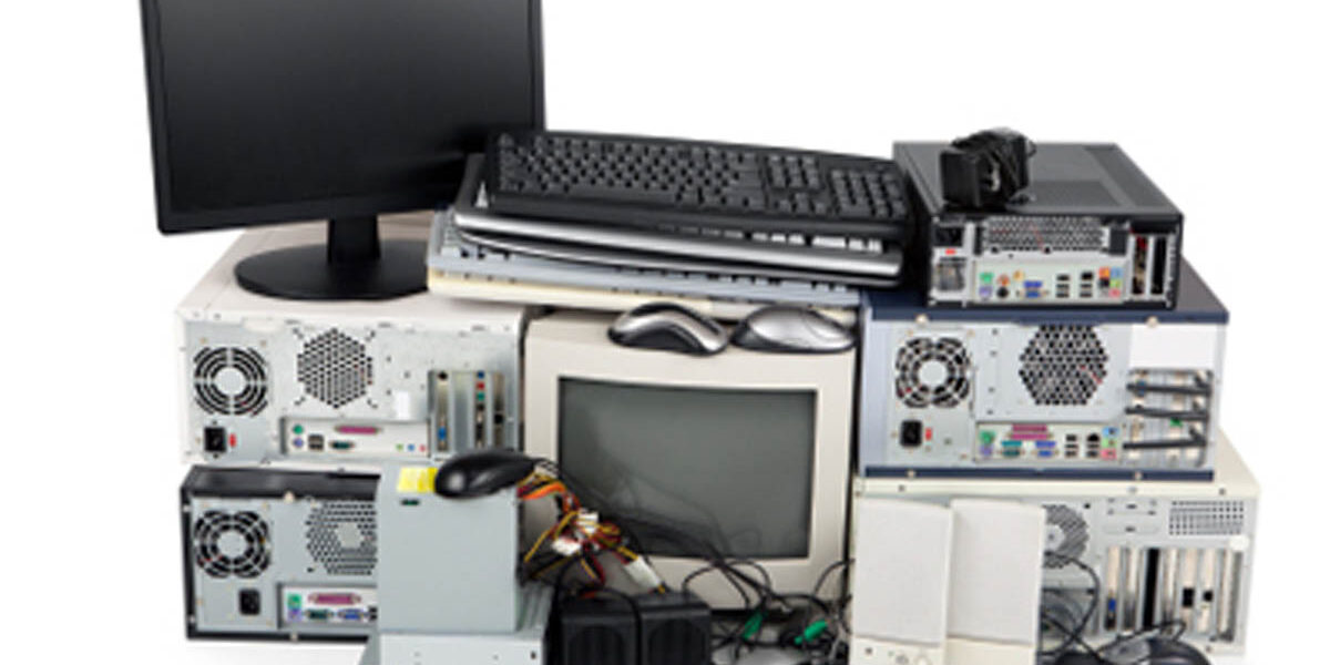 on site shredding service - e waste and computer recycling